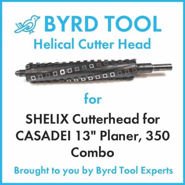 """SHELIX Cutterhead for CASADEI 13"""" Planer"""