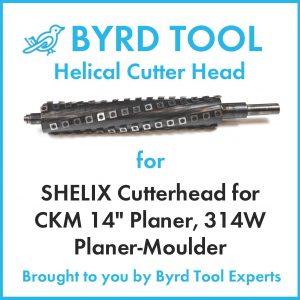 """SHELIX Cutterhead for CKM 14"""" Planer"""