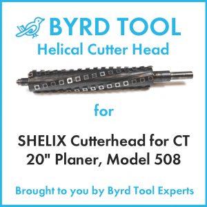 """SHELIX Cutterhead for DELTA 12"""" Planer"""