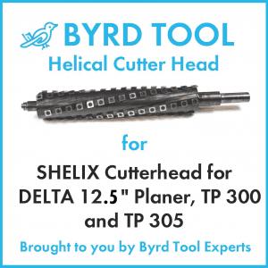 SHELIX Cutterhead for Delta 12.5 Planer