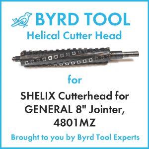 SHELIX Cutterhead for GENERAL 8″ Jointer, 4801MZ