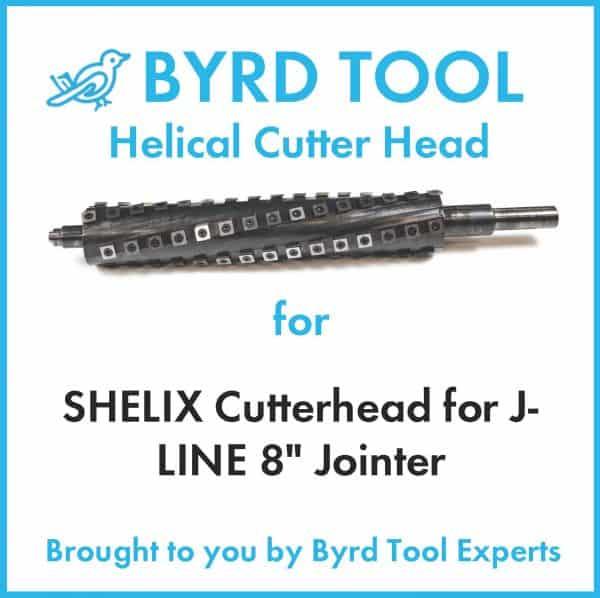 SHELIX Cutterhead for J-LINE 8″ Jointer