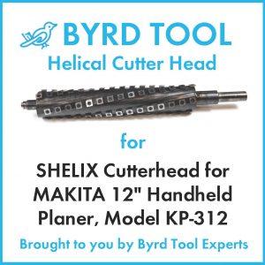 "SHELIX Cutterhead for MAKITA 12"" Planer"