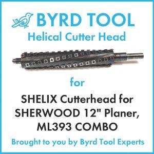 "SHELIX Cutterhead for SHERWOOD 12"" Planer"