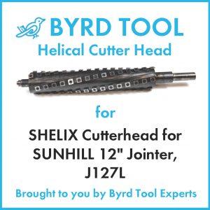 SHELIX Cutterhead for SUNHILL 12″ Jointer, J127L