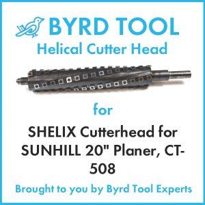 """SHELIX Cutterhead for SUNHILL 20"""" Planer"""