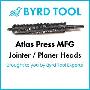 Atlas Press MFG Planers and Jointers