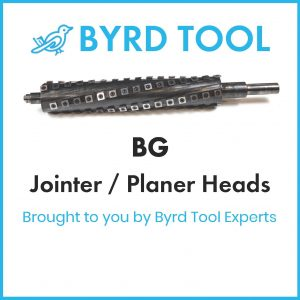 BG Planers and Jointers