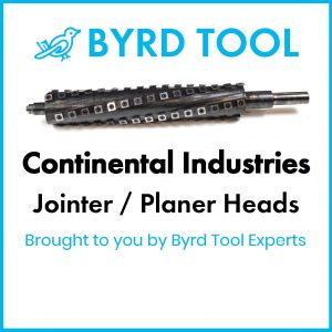 Continental Industries Planers and Jointers