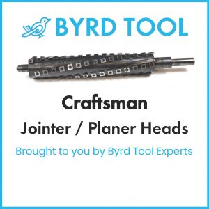 Craftsman Planers and Jointers