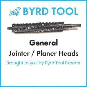 General Planers and Jointers