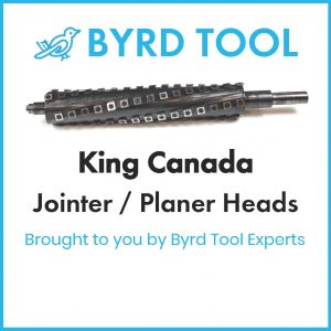 King Canada Planers and Jointers