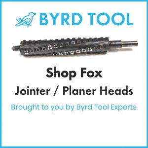 Shop Fox Planers and Jointers