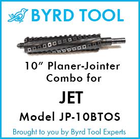 SHELIX Cutterhead for Jet 10″ Jointer / Planer Combo – Model JJP-10BTOS