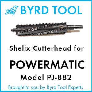 """SHELIX Cutterhead for Powermatic 8"""" Jointer - Model PJ-882"""
