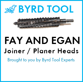 Fay and Egan Planers and Jointers