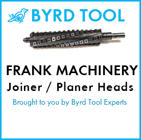 Frank Machinery Planers and Jointers