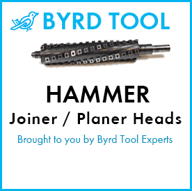 Hammer Planers and Jointers