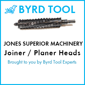 Jones Superior Machinery Planers and Jointer