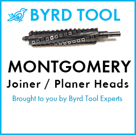 Montgomery Planers and Jointers