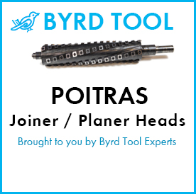 Poitras Planers and Jointers