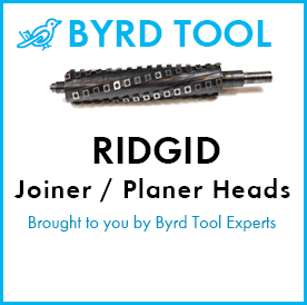 Ridgid Planers and Jointers